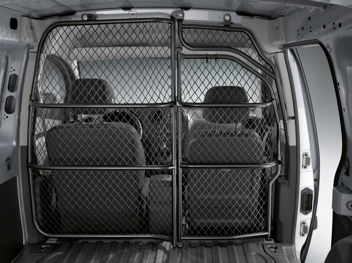 Citan Panel Van, folding load protection grille, co-driver side