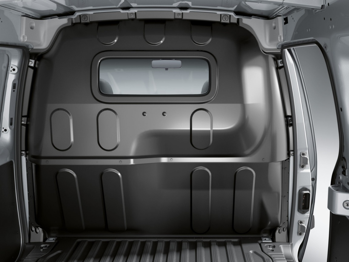 Citan Panel Van, full-width bulkhead with 1 window