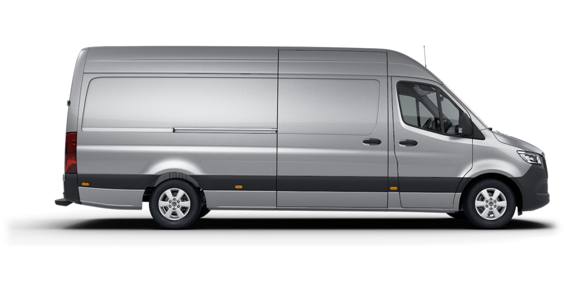 Sprinter Panel Van, high roof, 4325-mm wheelbase, 1615-mm overhang