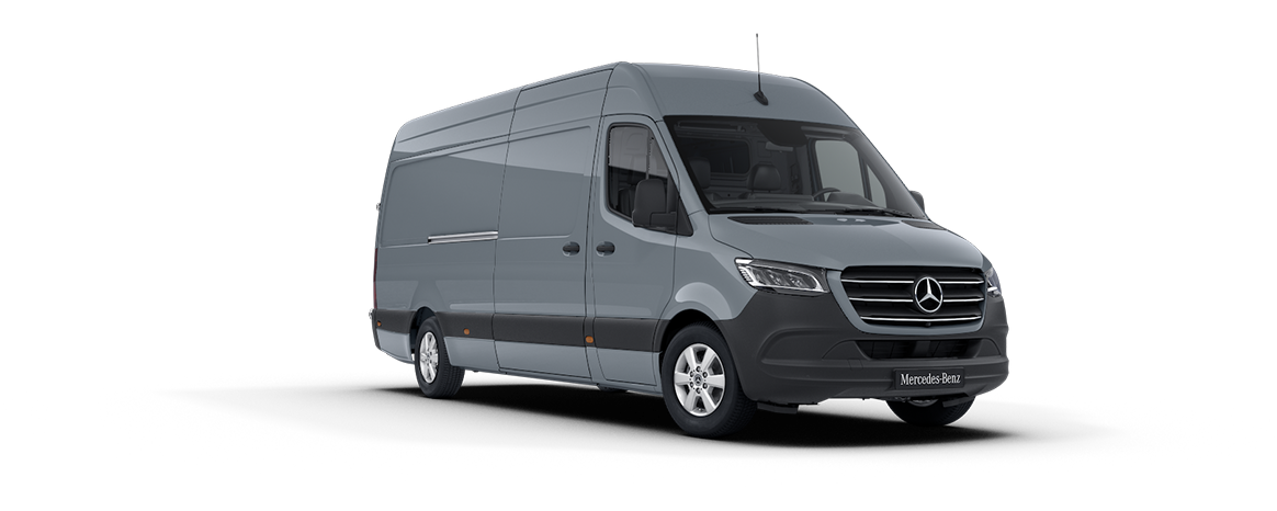 Sprinter Panel Van, blue-grey, lead-free