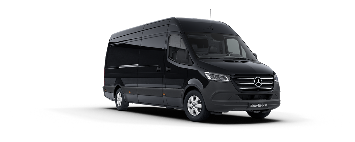 Sprinter Panel Van, deep black