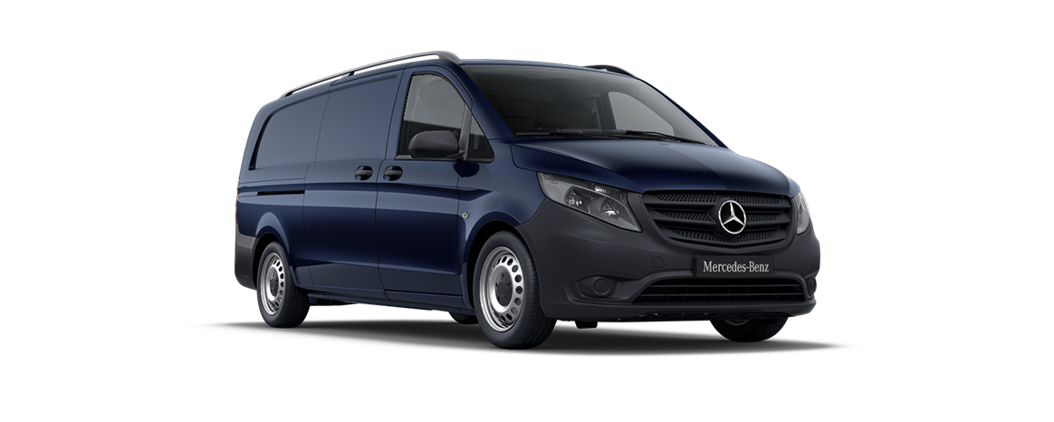 Vito panel van, cavansite blue