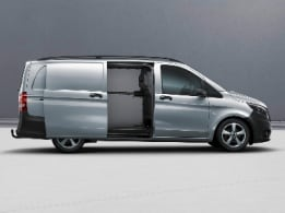 Vito panel van, sliding door on the right