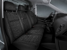 Vito Panel Van, co-driver bench seat