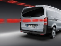 Vito panel van, adaptive brake lights