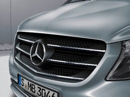 Vito Tourer, chrome-plated radiator grille